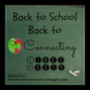 Back to School Back to Connecting Blog Button