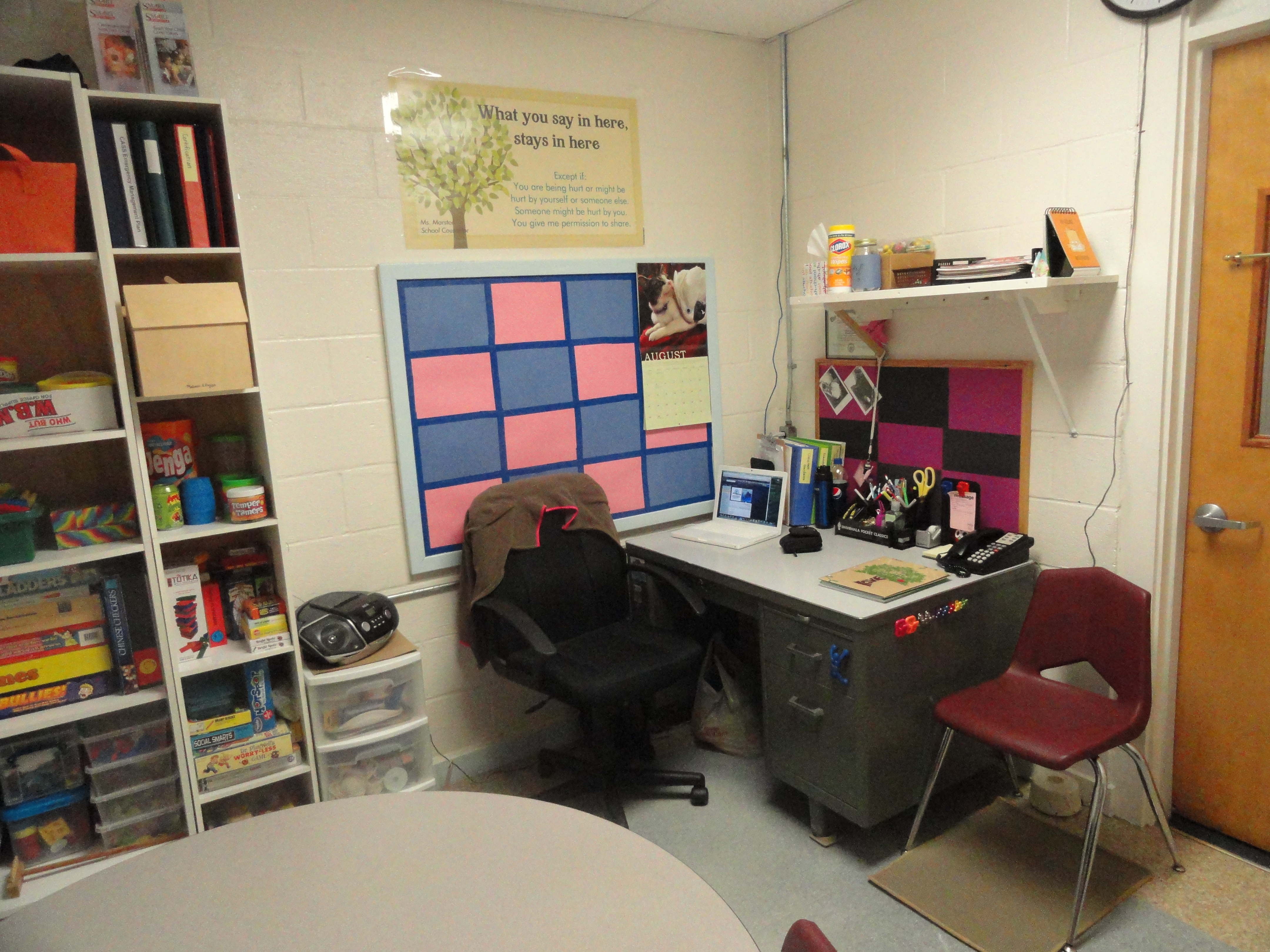 Office The School Counselor Kind