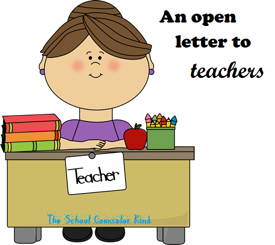 Open letter to teachers image